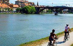 Murradweg Oostenrijk fietsen